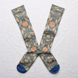 [Bonne Maison] Knee-highs Cedar Tapestry